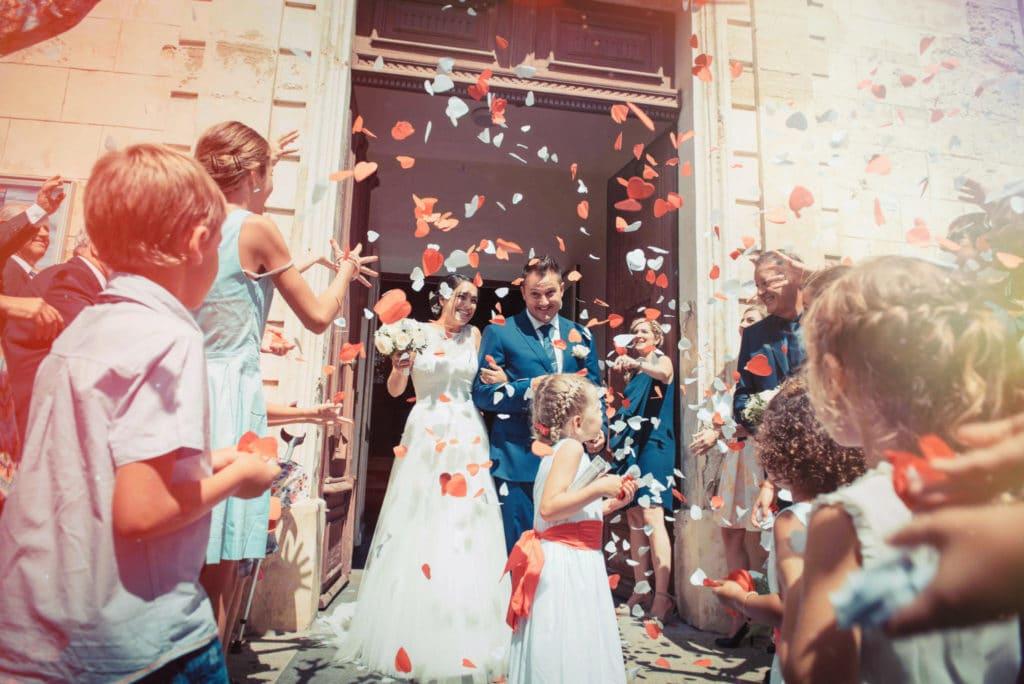 Mariage à Mauguio de Delphine et John