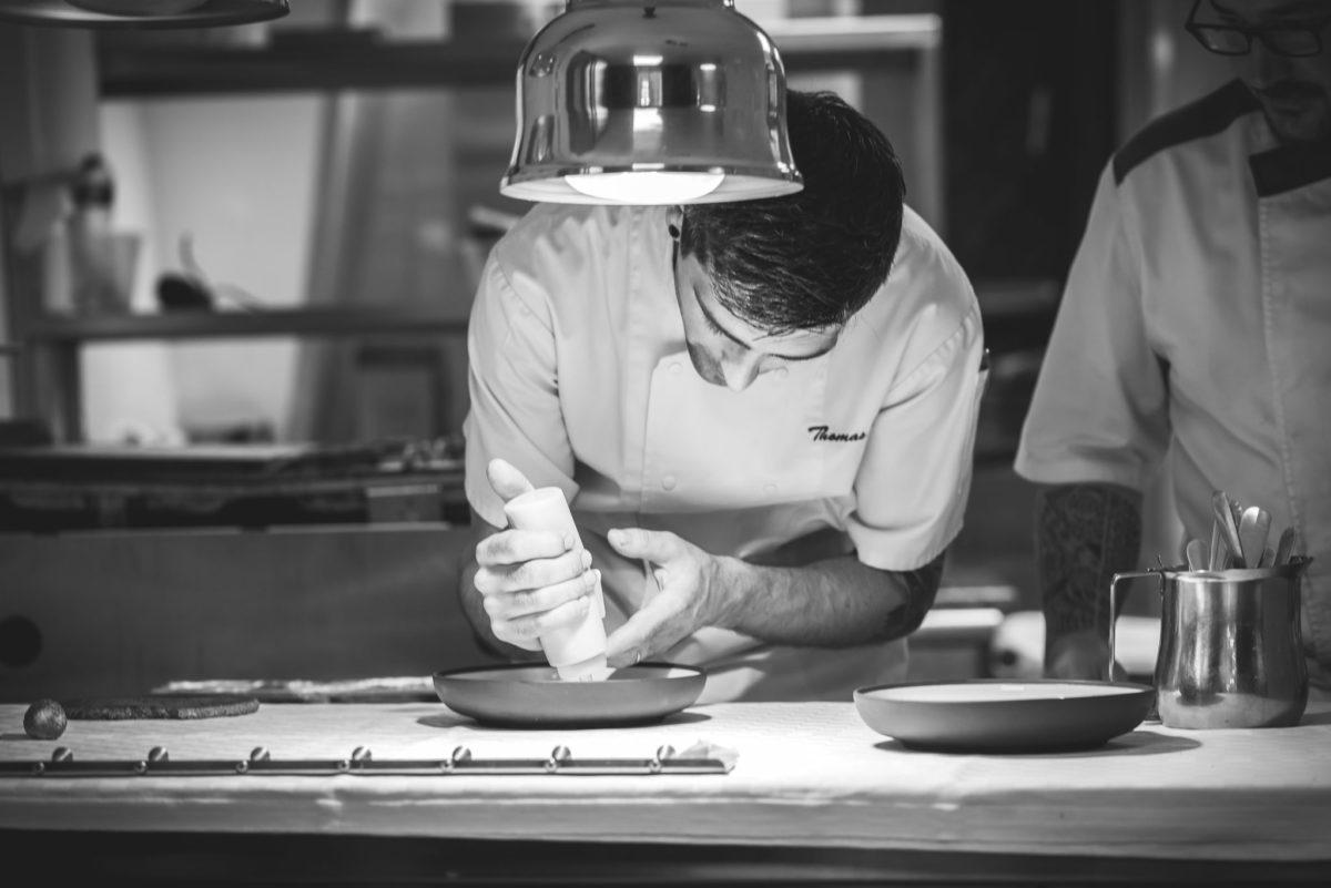 Chef Thomas Réa du Restaurant La Diligence à Montpellier